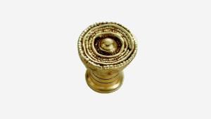 bouton sculpture bronze andaloux