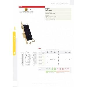 serrure clef L 2260-90